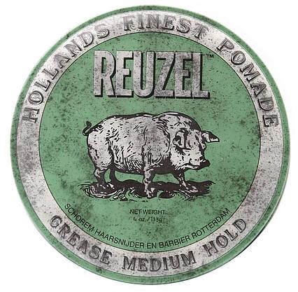 Помада для волосся Reuzel Green Medium Hold Grease 113г