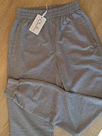 Брюки мужские 2-хнитка с карманами серые