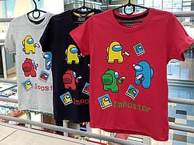 Детские футболки для мальчика IMPOSTOR! Турция. 3-12 лет!