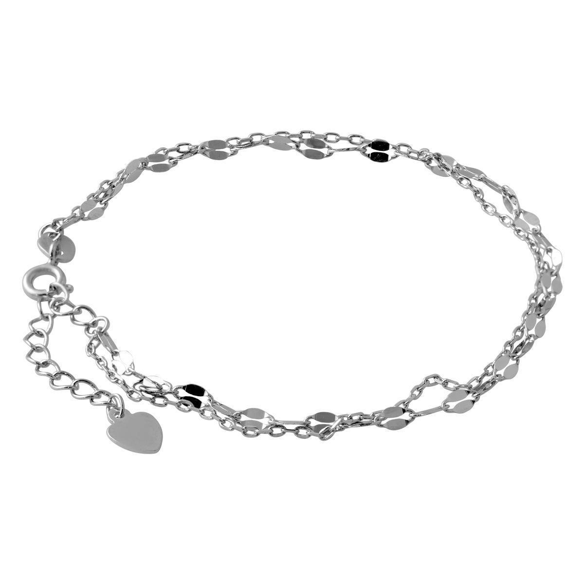Серебряный браслет pSilverAlex без камней (2066828) 1720 размер