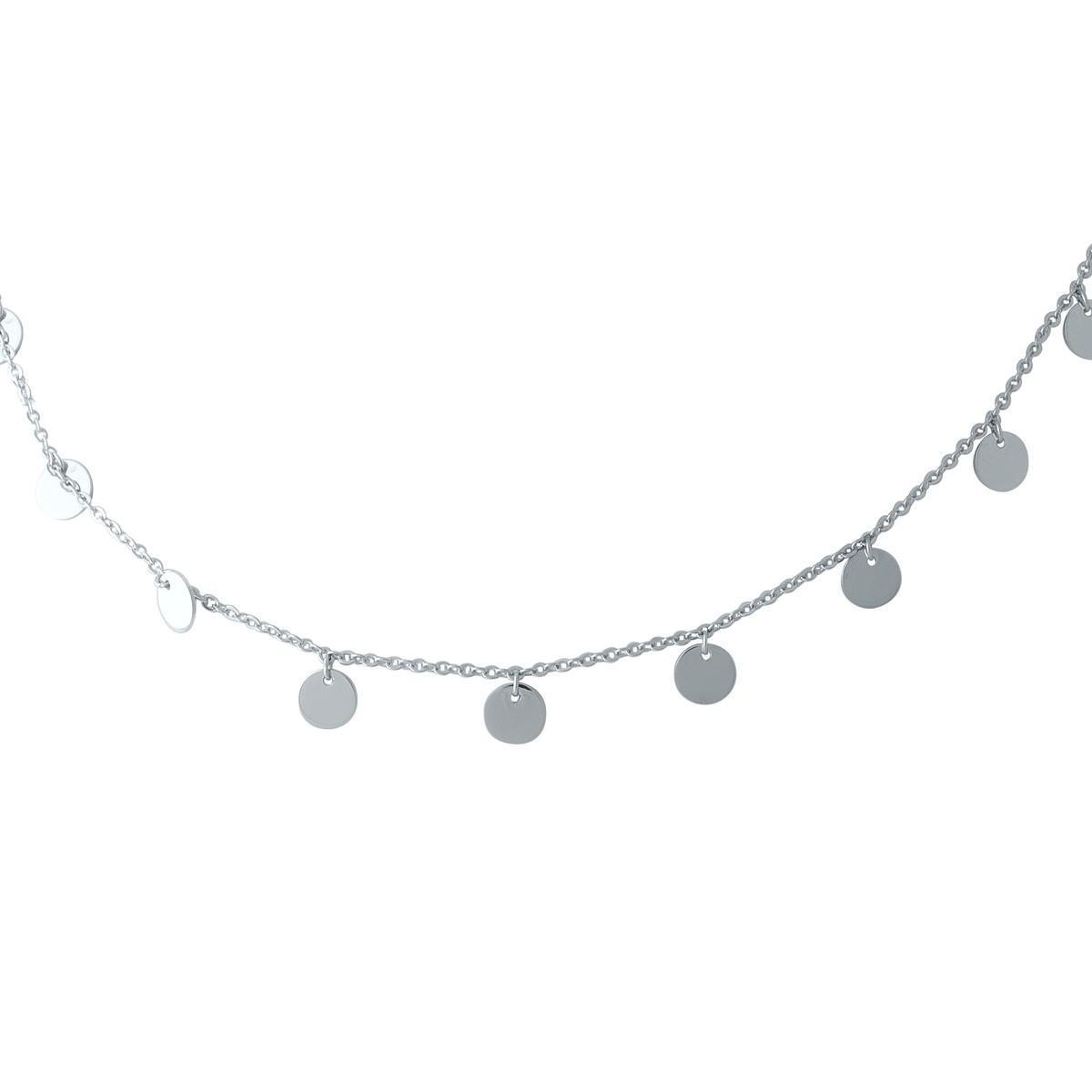 Срібне кольє pSilverAlex без каменів (1967027) 420 розмір 450мм