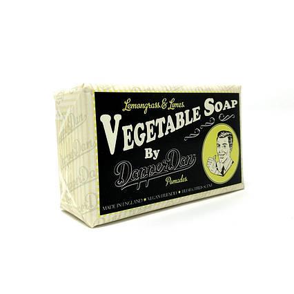 Мыло мужское натуральное Dapper Dan Vegetable Soap Lemongrass&Limes 190г