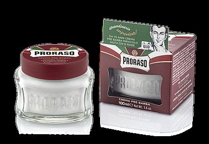 Крем до бритья для жесткой щетины Proraso 100мл