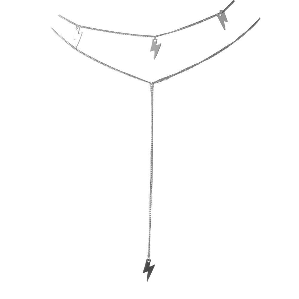 Срібне кольє pSilverAlex без каменів (1993774) 450 розмір