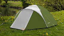 Палатка туристична 3-х місцева Presto Acamper ACCO 3 PRO - 3000мм. Н2О - 3,2 кг, Синій, фото 3