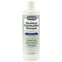 Davis Maximum Chlorhexidine Shampoo ДЕВІС МАКСИМУМ ХЛОРГЕКСИДИН шампунь з 4% хлоргексидином для собак і котів
