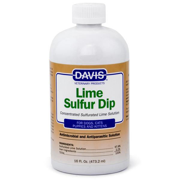 Davis Lime Sulfur Dip ДЕВІС Лайм сульфурил антимікробну і антипаразитарні засіб для собак і котів, концентрат