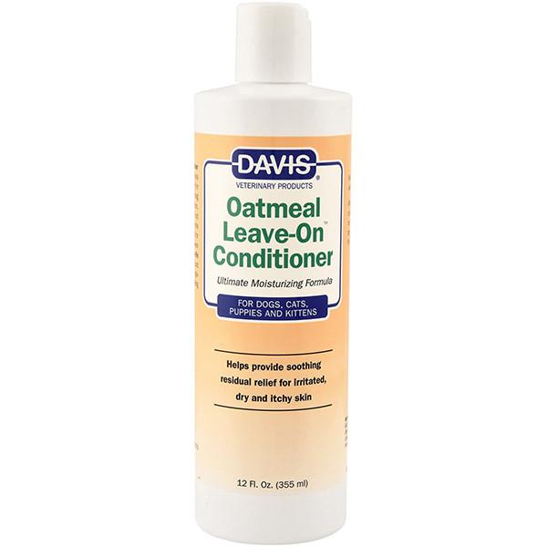 Davis Oatmeal Leave-On Conditioner ДЭВИС ОВСЯНАЯ МУКА супер увлажняющий кондиционер для собак, котов,