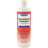 Davis Miconazole Shampoo ДЕВІС Міконазолу шампунь з 2% нітратом миконазола для собак і котів із захворюваннями