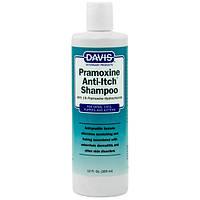 Davis Pramoxine Anti-Itch Shampoo ДЕВІС ПРАМОКСІН шампунь від сверблячки з 1% прамоксіна гідрохлоридом для