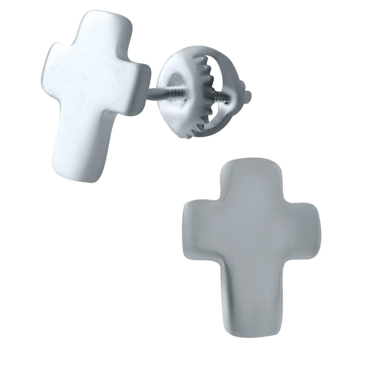 Серебряные серьги pSilverAlex без камней (1931134)