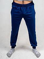Брюки мужские 2-хнитка с карманами синие