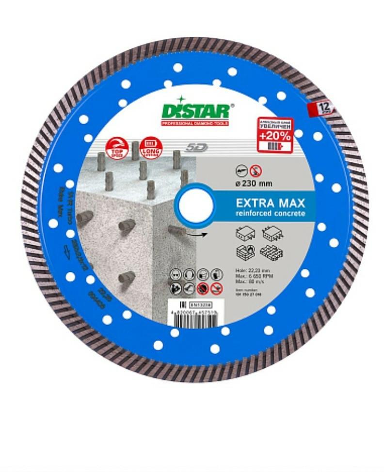 Круг алмазный отрезной Distar 230 Turbo Extra Мах 5D