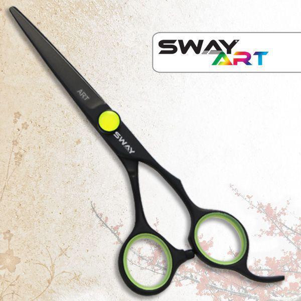 """Ножницы прямые SWAY ART 2014 Neon G (110 30550G) 5,00"""""""