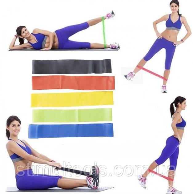 Набор фитнес резинок EL-618 (5 штук)