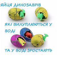 Яйця динозавра інкубаційні подарунок іграшка яка росте у воді набір із 60 шт