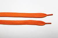 Шнурки плоские (чехол) 10мм. оранж
