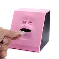 Скарбничка жує монети з особою, дитяча скарбничка Face piggy bank