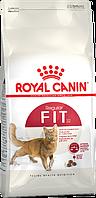 АКЦИЯ! Сухой корм Royal Canin FIT 32 для взрослых кошек, 10КГ + 2КГ