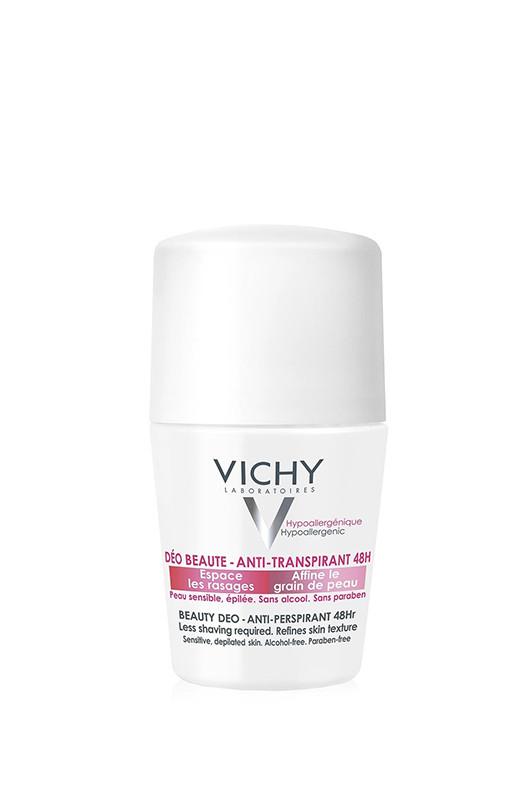 Vichy Дезодорант ролик Beauty Anti-Transpirant 48h Замедляющий рост волос