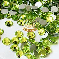 Камни Preciosa, цвет Limecicle (нетермо)