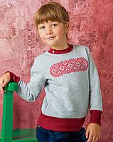 Свитшот для девочки с вышивкой