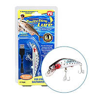 Приманка воблер для ловли хищных рыб Твичинг Лур Twitching Lure