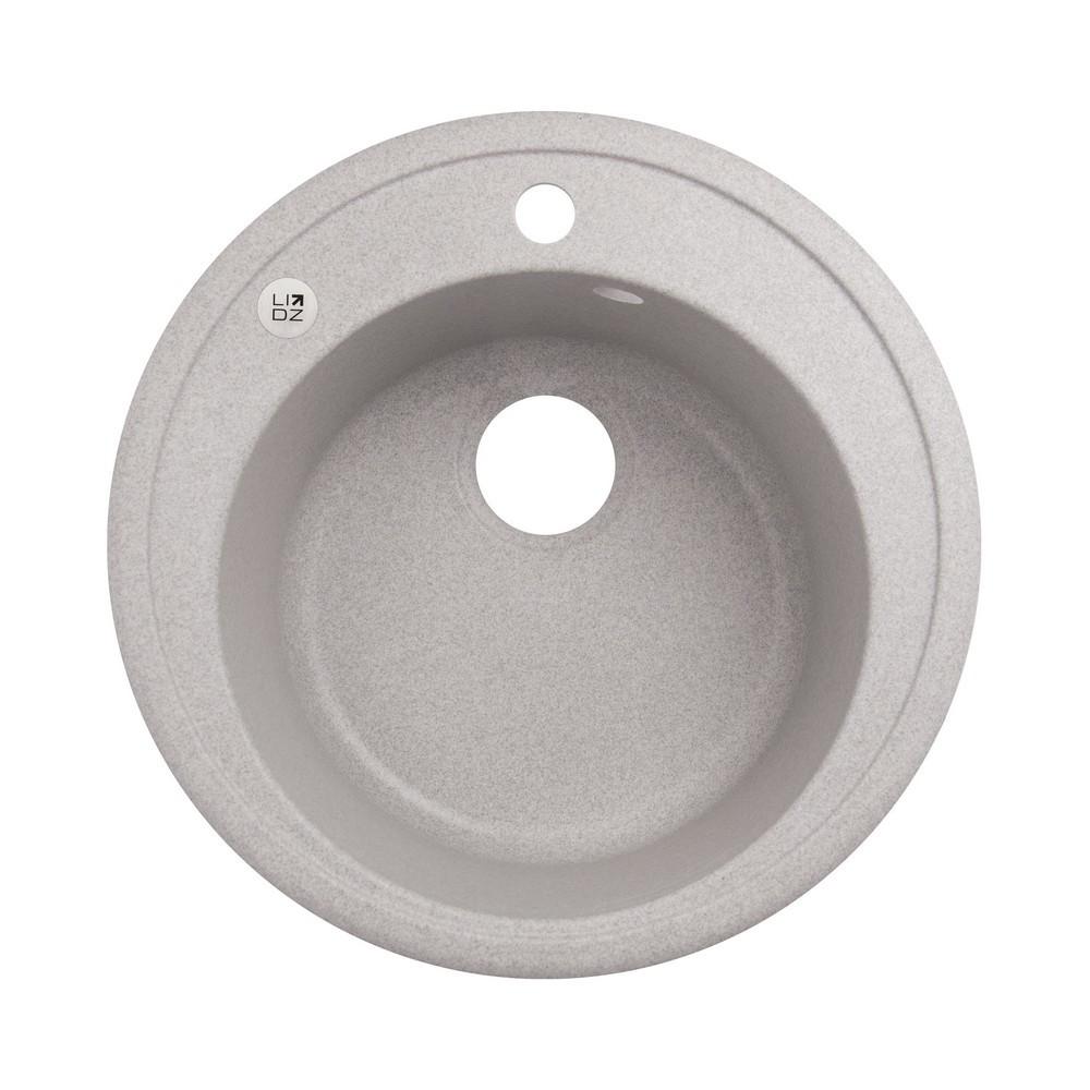 Кухонна мийка Lidz D510/200 GRA-09 (LIDZGRA09D510200)
