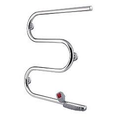 Полотенцесушитель электрический Qtap Snake (CRM) 500х500 RE