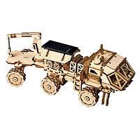 Дерев'яний 3D конструктор Rokr Robotime - Марсохід - 203 деталі, фото 1