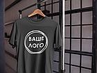 Футболка з логотипом / брендована футболка, фото 2