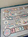 "Килим в дитячу ""Веселий квест"" утеплений килимок мат (1.5*2 м), фото 4"