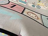 "Килим в дитячу ""Веселий квест"" утеплений килимок мат (1.5*2 м), фото 6"