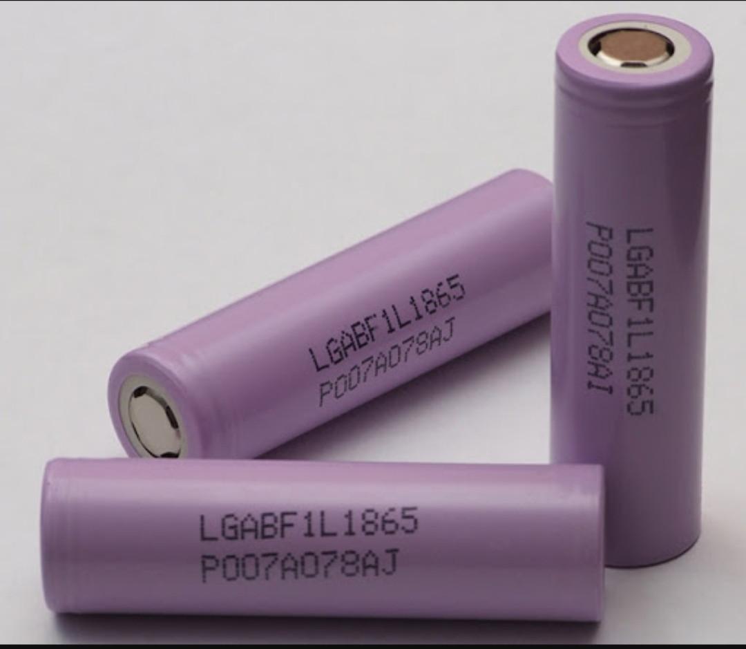 Аккумулятор LG ICR18650F1L 3,7V  3400mAh  ( 1шт. )