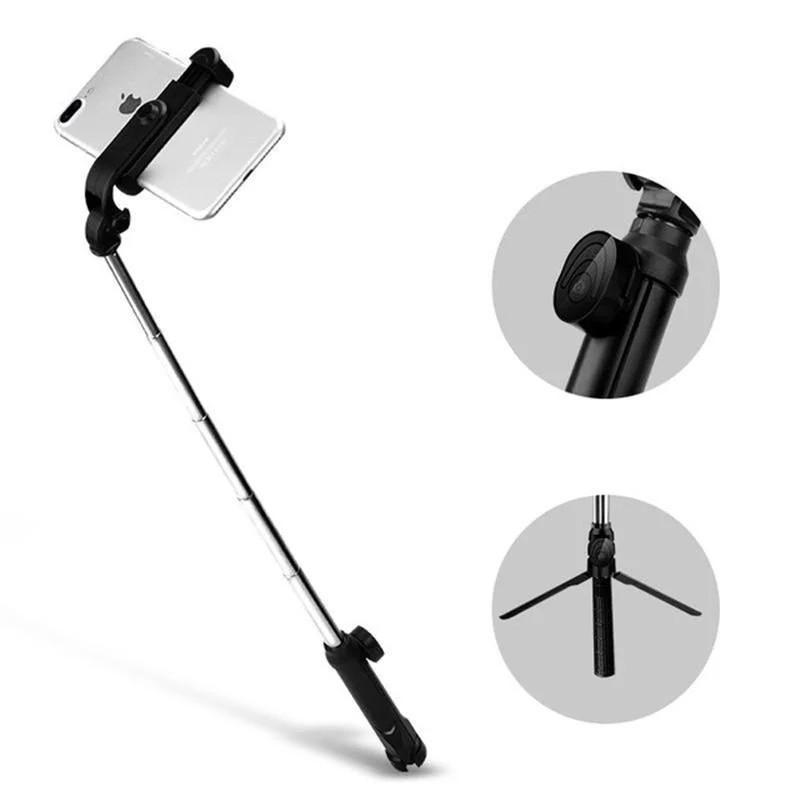Монопод трипод X10 Bluetooth селфи палиця штатив для телефону Чорний