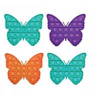 Сенсорная игрушка Pop It антистресс бабочка