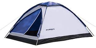Туристическая палатка 2-х местная Acamper DOMEPACK2 - 2500мм. H2О - 1,8 кг. Синий