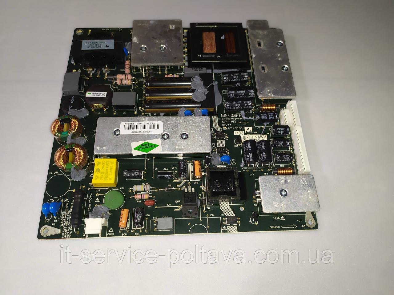 Блок живлення (Power Supply) MP118FL R:1.1  для телевізора BLAUPUNKT
