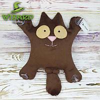 Кот Саймона (с бубенчиками) игрушка в машину на присосках (в ассортименте)
