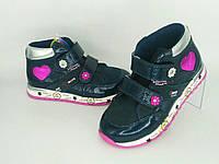 Ортопедичні дитячі кросівки на флісі Bebetom для дівчинки 27