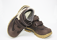 Ортопедичні дитячі чоботи коричневі 30