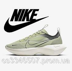 Женские салатовые кроссовки Nike Vista Lite Green 36-40 р. Кроссовки Найк Виста Лайт зеленые