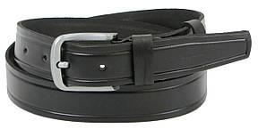 Мужской кожаный ремень под джинсы Skipper 1262-38 черный 3,8 см, фото 2
