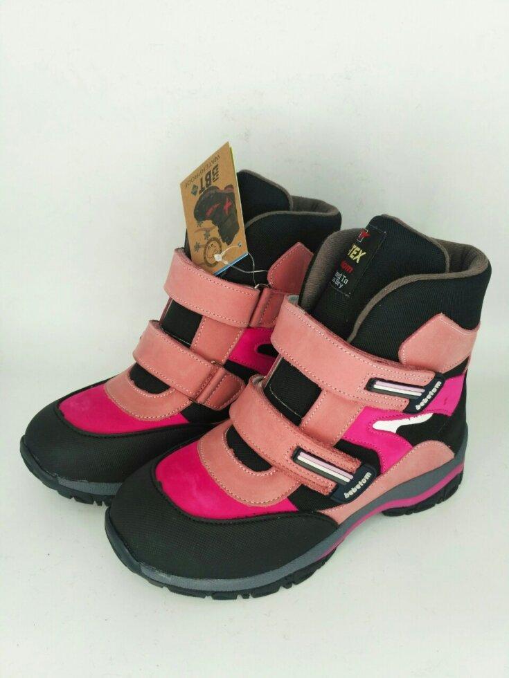 Ортопедичні дитячі зимові чоботи Bebetom 33