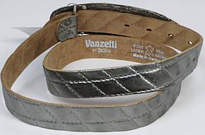Женский кожаный ремень с закрытой пряжкой, Vanzetti 100016 3х118 см, фото 2