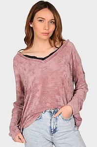 Свитер женский розовый размер L AAA 128503P