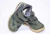 Ортопедичні дитячі черевики хакі, фото 1
