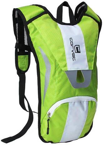 Велосипедный рюкзак 5L Corvet BP2504-42 салатовый, фото 2