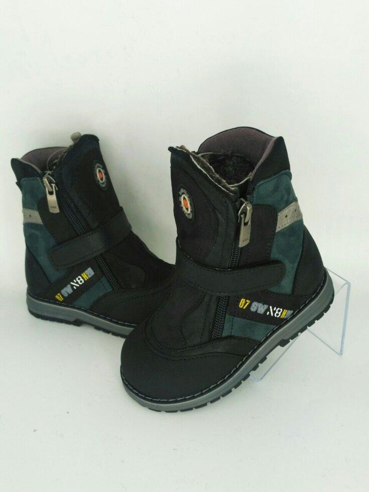Ортопедичні дитячі чоботи зимові Bebetom 22