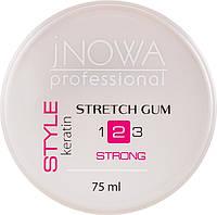 """Моделюючий гель""""Павутинка"""" """"jNOWA Professional"""" Style, сильної фіксації 75 мл"""